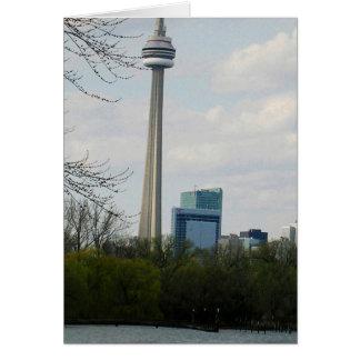 Toronto Landmark CN Tower V2 Card