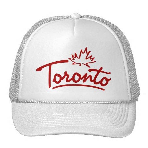 Toronto Leaf Script Trucker Hat