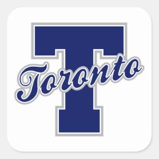 Toronto Letter Square Stickers