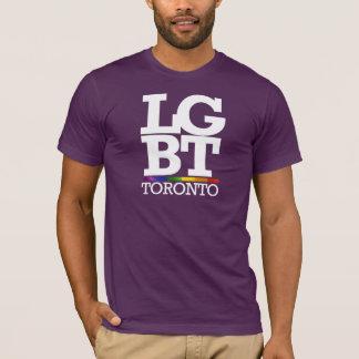 TORONTO LGBT -- .png Playera