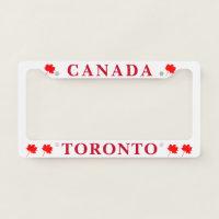 Toronto License Plate Frame