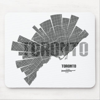 Toronto Map Mousepad