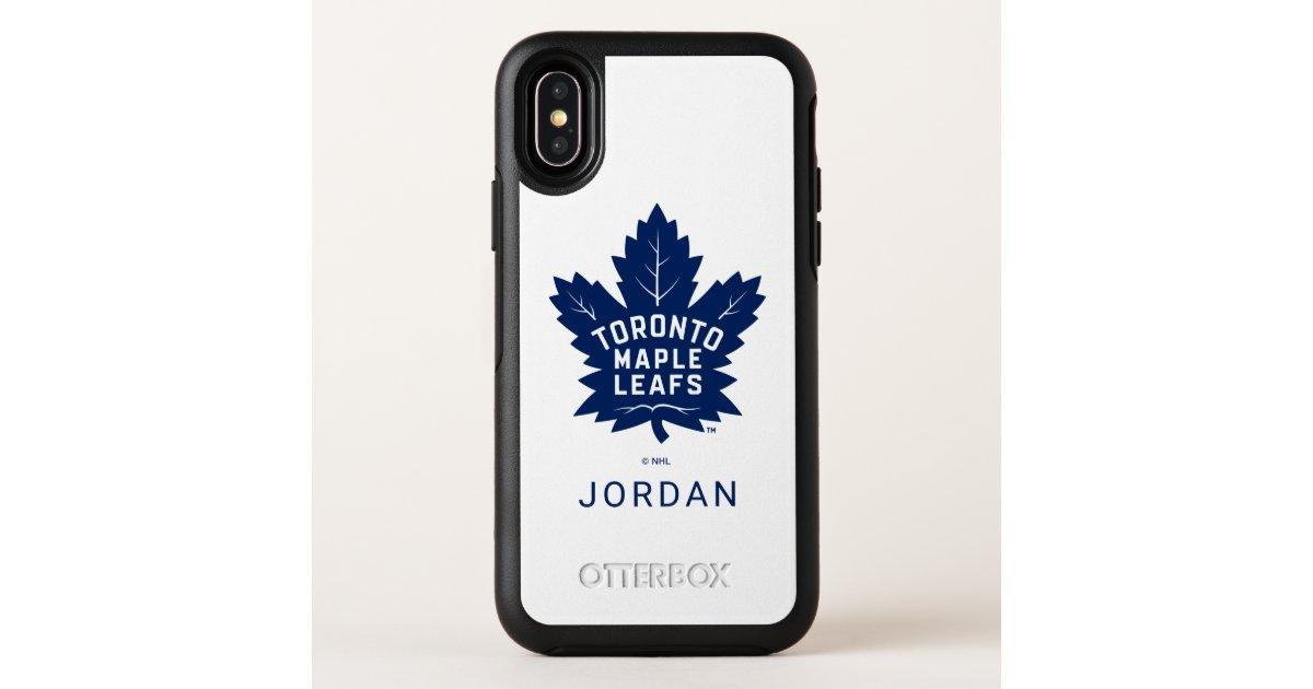 Toronto Maple Leafs White Otterbox Iphone Case Zazzle Com