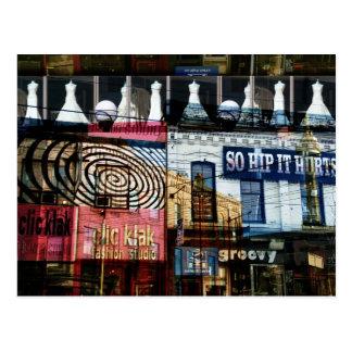 Toronto moda de la calle de la reina tarjetas postales