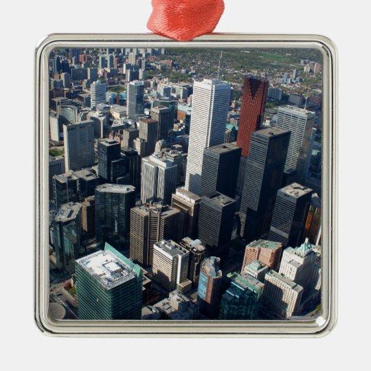 Toronto, Ontario, Canada, building skyline Metal Ornament