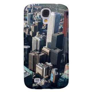 Toronto, Ontario, Canadá, horizonte constructivo Funda Para Galaxy S4