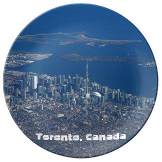 Toronto Ontario Canadá Platos De Cerámica