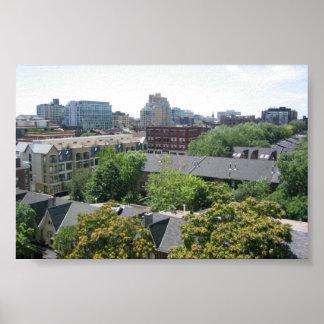 Toronto, Ontario - Canada Posters