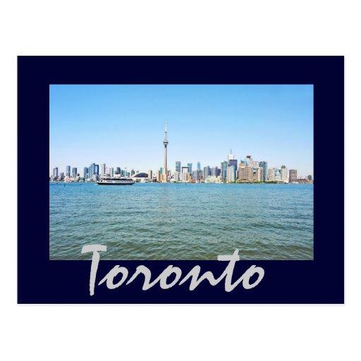 Toronto, Ontario, Canadá Tarjeta Postal