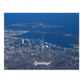 Toronto Ontario Canadá Tarjeta Postal