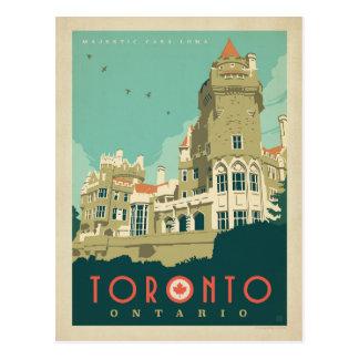 Toronto, Ontario - casa majestuosa Loma Tarjetas Postales