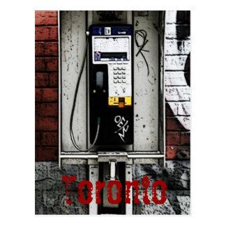 Toronto payphone postcard