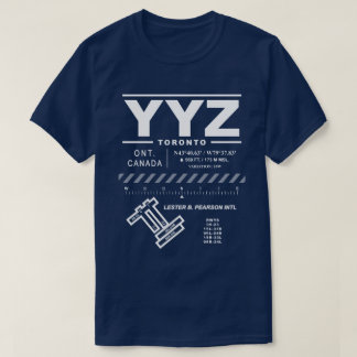 Toronto Pearson Int'l Airport YYZ Tee Shirt