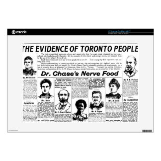 Toronto people vintage newspaper laptop decal