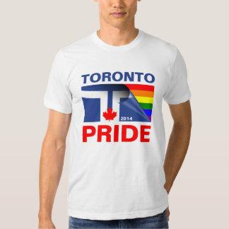 Toronto Pride 2014 Rainbow Flag T-Shirt