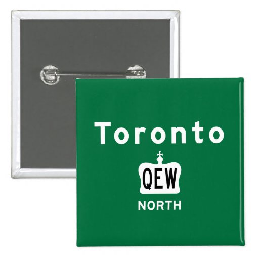 Toronto QEW Pin