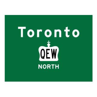 Toronto QEW Postcard