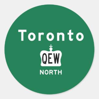 Toronto QEW Sticker