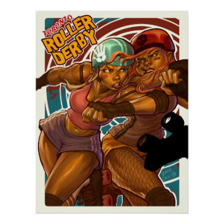 Toronto Roller Derby Poster