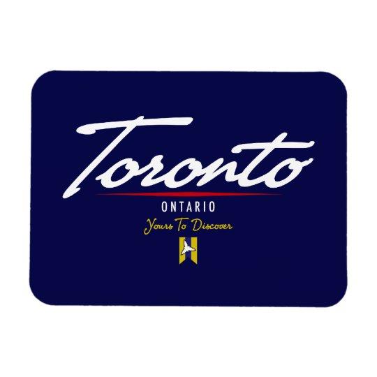 Toronto Script Magnet