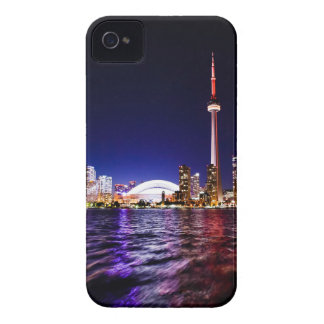 Toronto Skyline at Night Case-Mate iPhone 4 Case