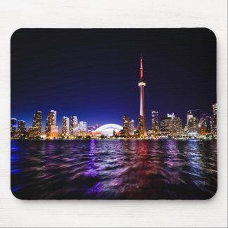 Toronto Skyline at Night Mouse Pad