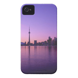 Toronto Skyline at night, Ontario, Canada iPhone 4 Cover