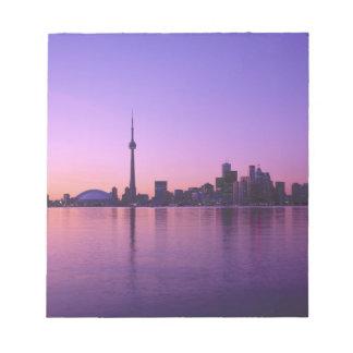 Toronto Skyline at night, Ontario, Canada Notepad
