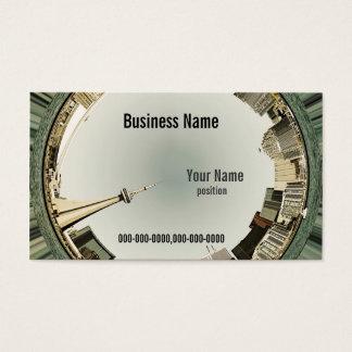 toronto skyline business card template