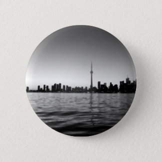 Toronto skyline button