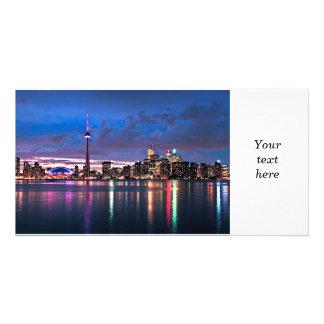 Toronto skyline card