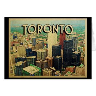 Toronto Skyline Greeting Card