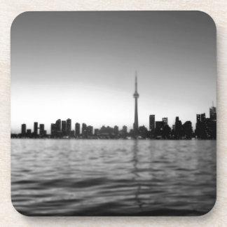 Toronto skyline drink coaster