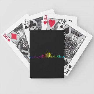 Toronto Skyline Gradient Bicycle Playing Cards