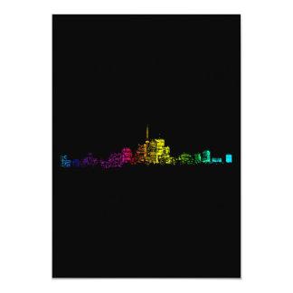 Toronto Skyline Gradient Card
