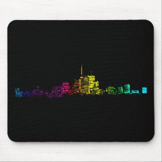 Toronto Skyline Gradient Mouse Pad