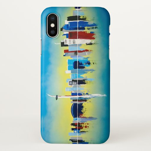Toronto Skyline iPhone X Case