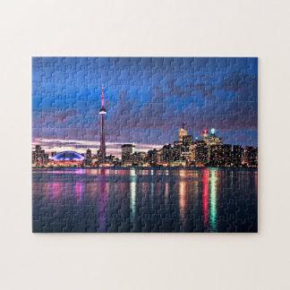 Toronto skyline jigsaw puzzle