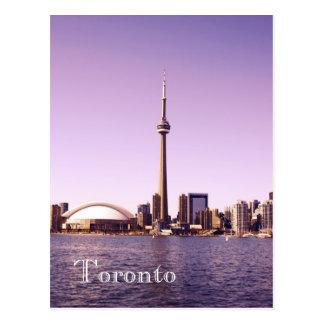 Toronto skyline - morning post cards