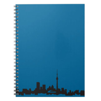 Toronto skyline notebook
