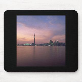 Toronto Skyline Portrait Mouse Pads