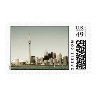 Toronto skyline postage