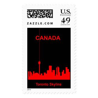 Toronto Skyline Stamps