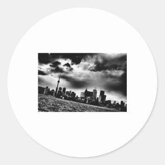Toronto Skyline Stickers