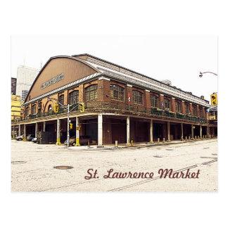 Toronto St. Lawrence Market Postcard