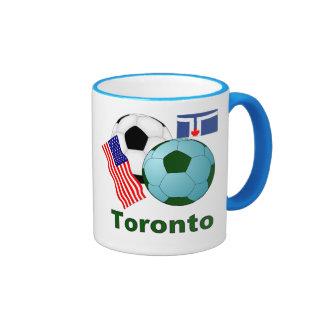 Toronto Taza De Dos Colores
