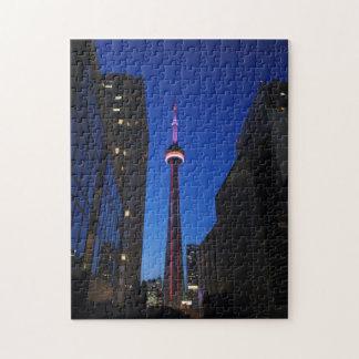 Toronto Tower Night puzzle