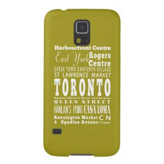 Toronto único, idea del regalo de Ontario Carcasa Para Galaxy S5
