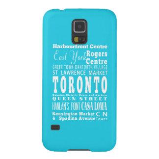 Toronto único, regalo de Ontario Funda Para Galaxy S5