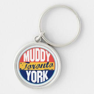 Toronto Vintage Label Keychain